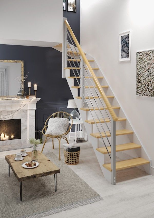 Escalier Ouessant In 2019 Staircase Design Tiny House Stairs