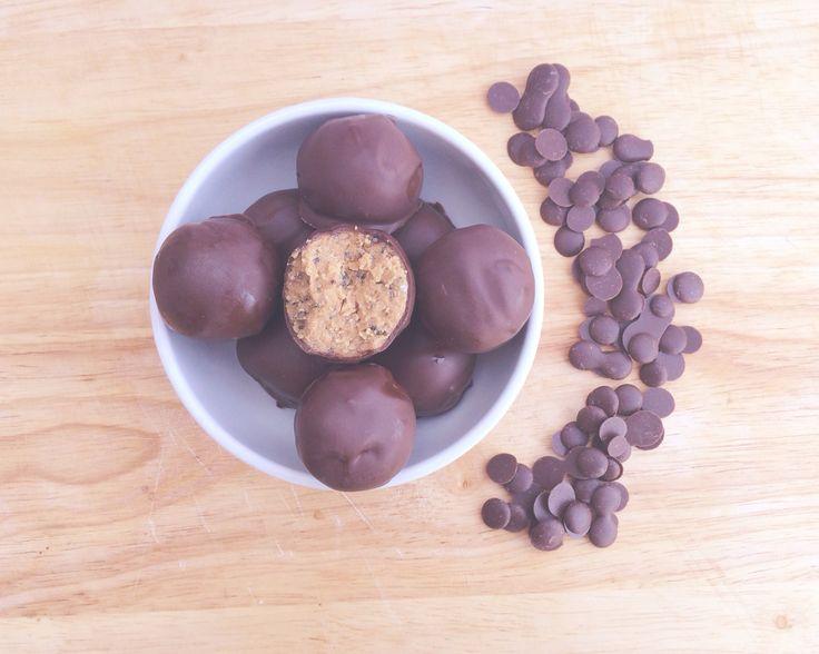 Peanut Butter Chia Seed Balls