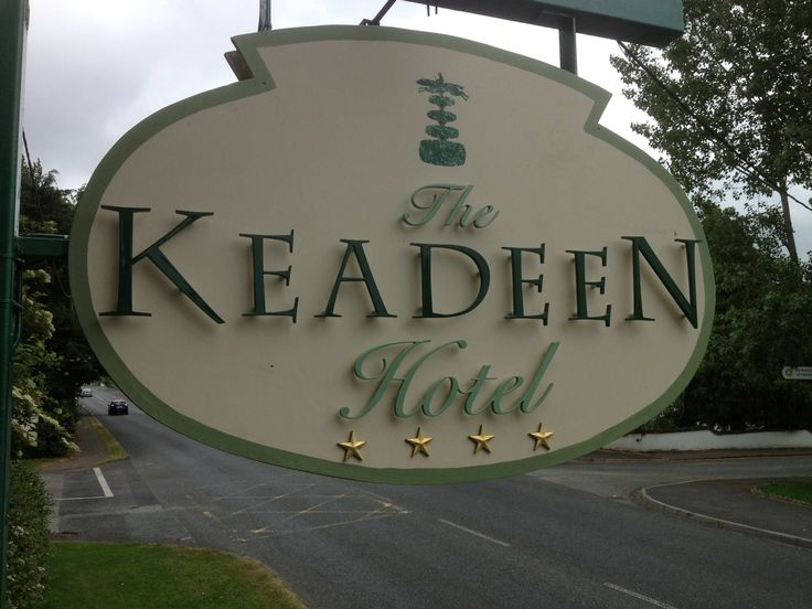 Signs in Kildare. This is raised letters on timber frame with hoppin' gold stars and a hand painted topiary on top #kildaresigns #signskildare #signsnewbridge