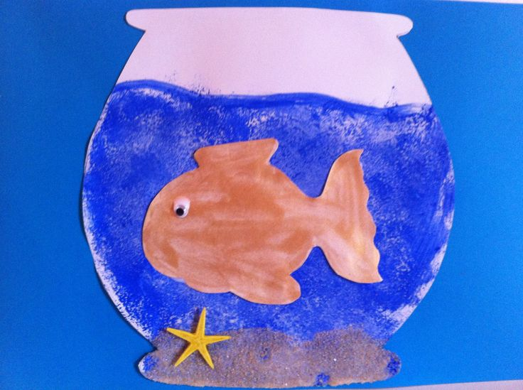 Fish in a bowl craft