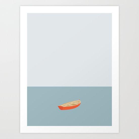OCEAN SVØMMERE No.01 (Boat) by Swen Swensøn