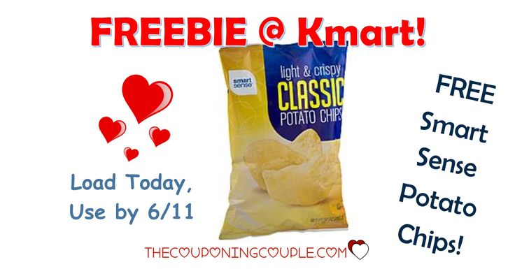 It's the KMART FRIDAY FIX! Get an ecoupon for FREE Smart Sense Potato Chips! Get the ecoupon now!  Click the link below to get all of the details ► http://www.thecouponingcouple.com/kmart-friday-fix/ #Coupons #Couponing #CouponCommunity  Visit us at http://www.thecouponingcouple.com for more great posts!