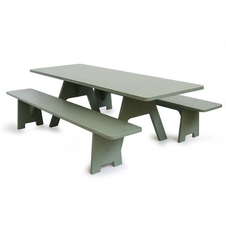 Crisis tafel in plaatmateriaal | PIET HEIN EEK
