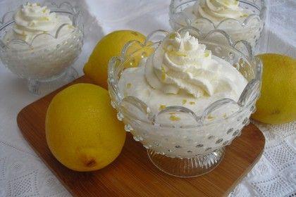 Schnelle, leckere Zitronencreme 1