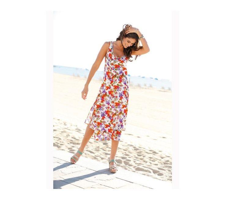 Dlhé volánové šaty s potlačou kvetov | vypredaj-zlavy.sk #vypredajzlavy #vypredajzlavysk #vypredajzlavy_sk #saty