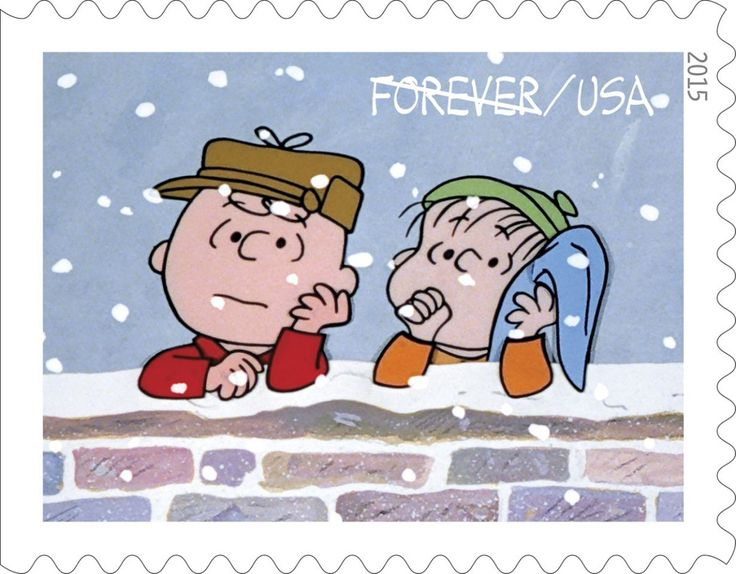 A Charlie Brown Christmas Stamp 7