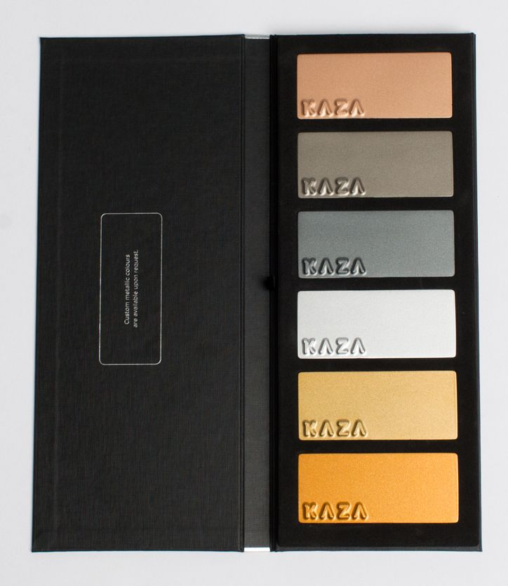 KAZA Concrete Metallic Colour Book