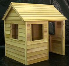Cedar playhouse plans Cedarshed DIY kids playhouses are made from non toxic…