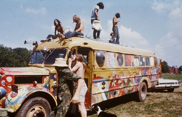 On January 14, 1967 the Human Be-In event was held in Golden State Park in San Francisco. This event, which received extensive media coverage from the major networks, popularized the hippie culture throughout the United States and led to the legendary Summer of Love on the West Coast. 3,000 hippies were expected but 30,000 hippies showed up and gathered in San Francisco's Golden Gate Park to celebrate the hippie culture.