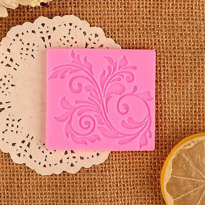 Silicone Fondant Lace Mold Cake Mould Decoration Baking Tools Pastry Sugar DIY