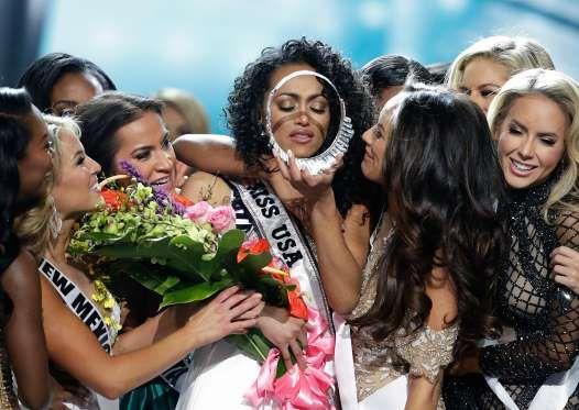 """В Лас-Вегасе прошел финал ежегодного конкурса красоты """"Мисс США"""". Победительницей в этом году стала ... - Фото: AP/ТАСС"""