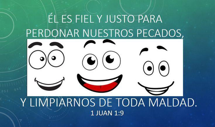 meme, REFLEXION DE LA BIBLIA, EL ES FIEL Y JUSTO PARA PERDONAR NUESTROS PECADOS Y LIMPIARNOS DE TODA MALDAD, 1 JUAN 1:9. CRISTIANOS, JESÚS, PRÉDICAS,