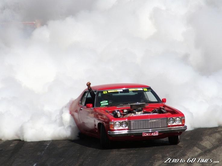 Muscle Car Burnouts