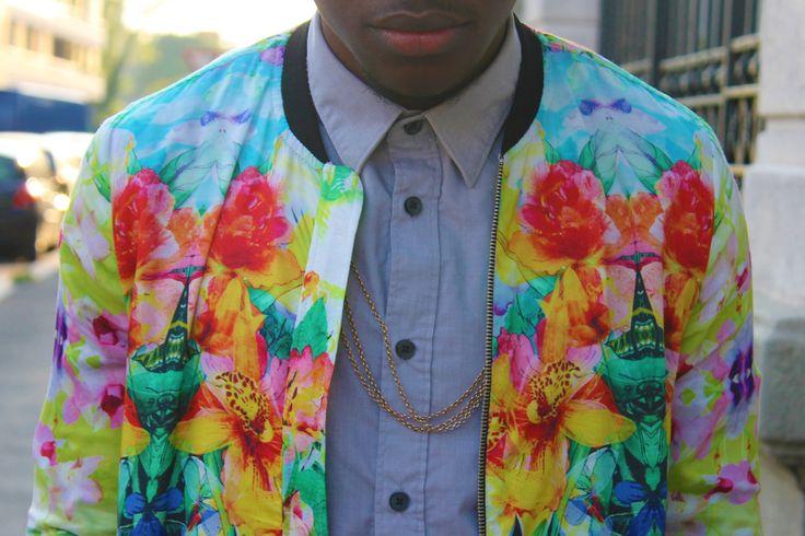 jacket.: Mode Man, Posts, Menswear, Floral Jackets, Fun, Paradise