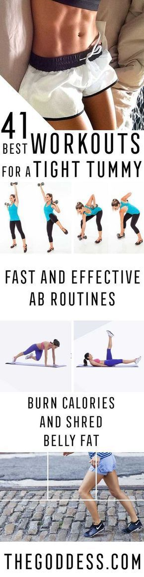 Best Workouts for a Tight Tummy - Ab Exercises and Ab Routine Ideas for Upper and Lower Abs - Get rid of that Belly Pooch, Love Handles or Muffin Top - Workouts and Motivation to Get In Shape, You don't Even Need a Gym - Weightloss Tips for a Healthy Life- Weightloss Tips - thegoddess.com/best-workouts-for-tight-tummy