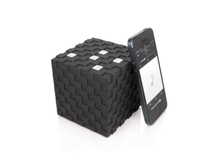The famous cube speaker, connect your phone via bluetooth and let your party come alive!  http://www.dreamcheeky.com/cube