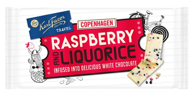 Travel with chocolate! Suomen rakastetuin brändi lähtee seikkailulle: Perinteinen Karl Fazer saa rinnalleen Karl Fazer Travel -suklaalevyt http://bit.se/j8Bitf