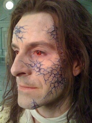 """A man wears makeup character effects company Masters FX created for """"The Twilight Saga: New Moon."""" The company's founder, Todd Masters, grew up in Lake Hills. (Courtesy Masters FX) / SL"""
