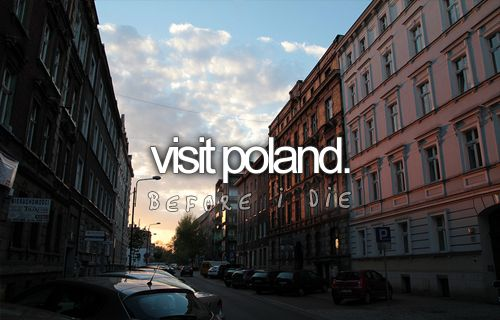 .: Visit Poland, Buckets Lists, Check, I M Polish, Polish Pottery, Before I Die, Country Bucketlist, Life Bucketlist, Die Bucketlist
