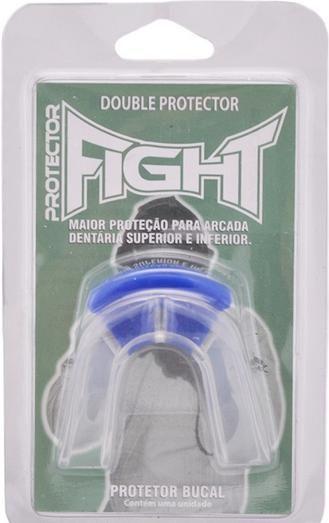 DE: R$39,00 POR: R$31,20  Protetor Bucal Duplo Fight - Muscle Shop
