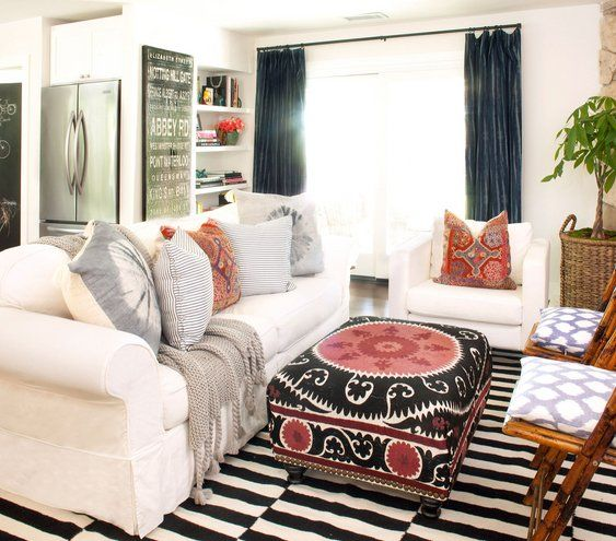 Eclectic Living Room Part 34