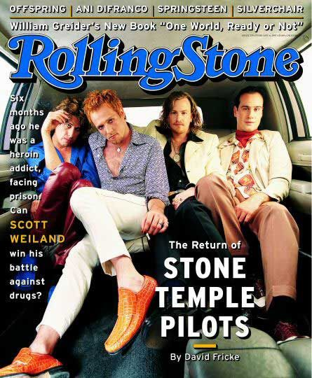 Rolling Stone Cover of Stone Temple Pilots