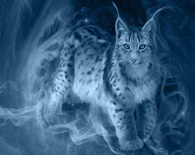 S044a Lynx Lateral Lynx Mythical Creatures Patronus