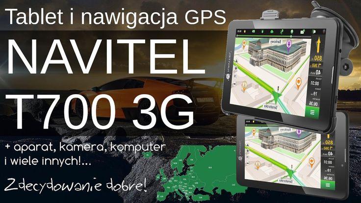 Tablet z nawigacją samochodową Navitel T700 3G - Opinia i Test