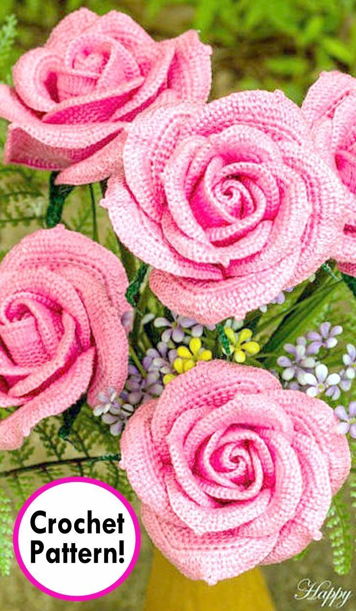 10 Beautiful Crochet Flowers To Make | Skip To My Lou | 1250x729