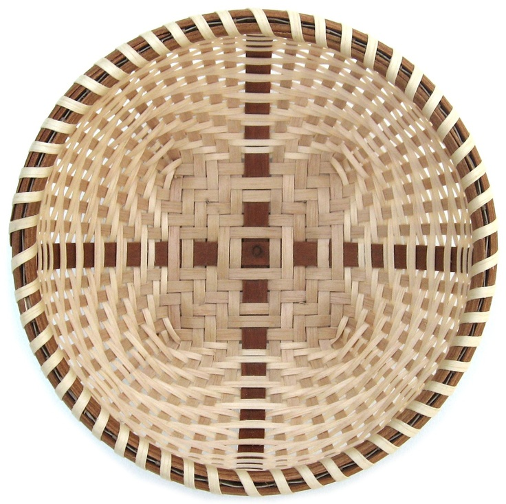 Nantucket Basket Weaving Patterns : Coverleaf joann kelly catsos i made one of theses in her