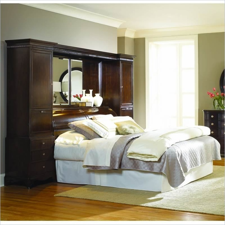 18 Best Images About Beds With Bookcase Headboards On