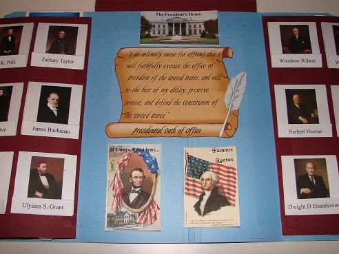 Free Presidents Lapbook