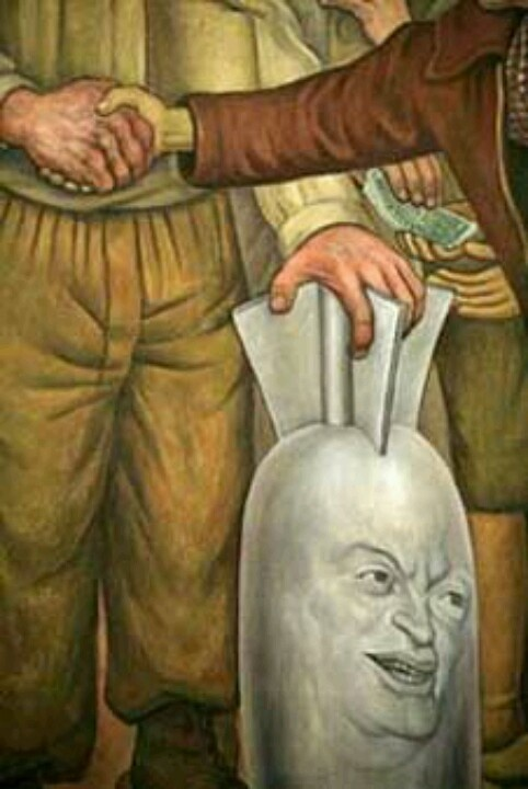 17 best images about diego rivera art on pinterest for Diego rivera famous mural