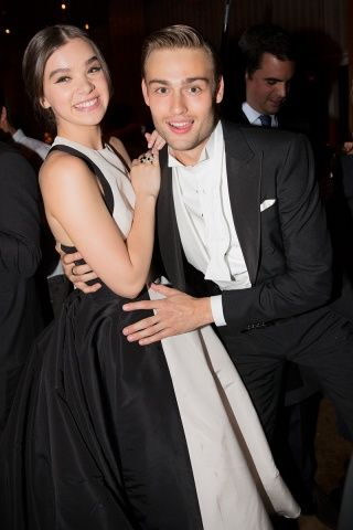 After party - Hailee Steinfeld and Douglas Booth