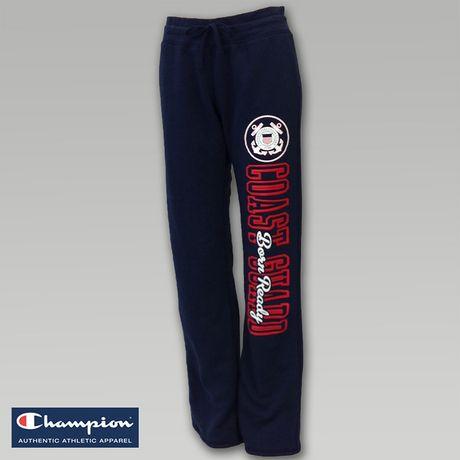 Coast Guard Women`s Fleece Sweatpants | ArmedForcesGear.com | Armed Forces Gear