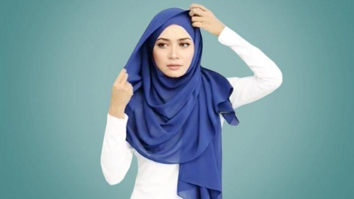 Tutorial Hijab Segitiga Ala Ria Ricis Hijab Kecantikan