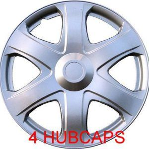 16″ SET OF 4 HUBCAPS FIT TOYOTA MATRIX AND MOST 16″ RIMS(16″ UNIVERSAL WHEEL COVERS)