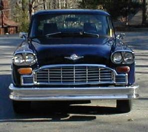 Best Checker Car Ads Images On Pinterest Vintage Cars