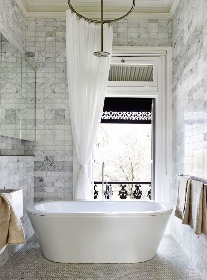 Photo Image bette starlet bath marble tiles photo derek swalwell