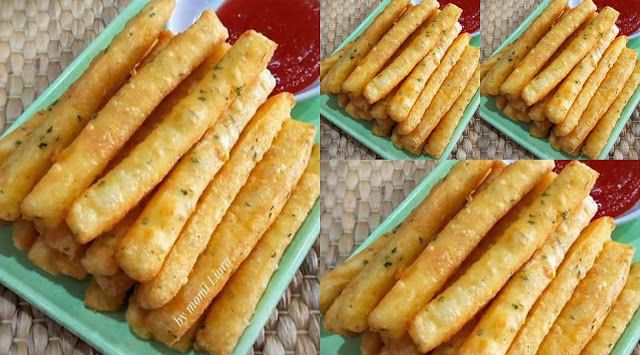 Potato Cheese Stick Recook By Lydiafransiskaa Resep Aneka Jajan Pasar Roti Hot Dog Resep Adonan
