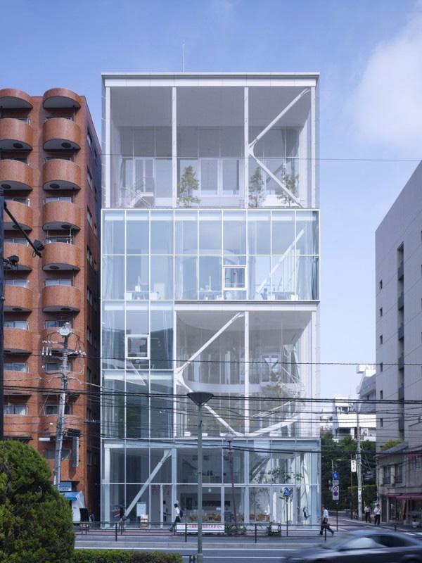 Shibaura House, Tokyo, Kazuyo Sejima