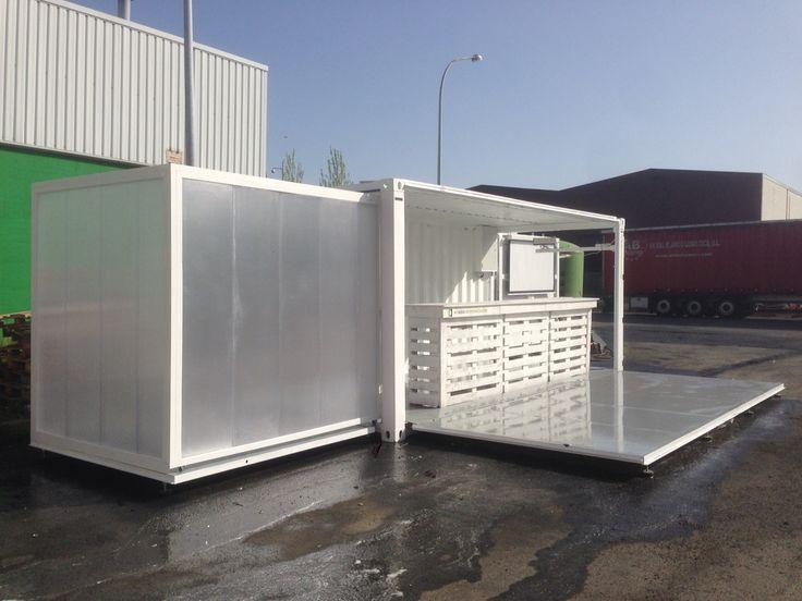 M s de 25 ideas incre bles sobre cabina de contenedor - Contenedores para vivir ...