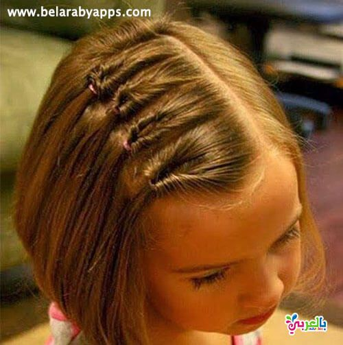 تسريحات شعر بنات جديدة للمدرسة Little Girl Hairstyles Hairdos For Short Hair Short Hair Styles