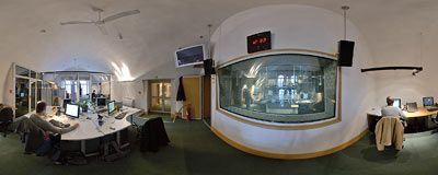 Redakcja programowa radia RMF FM. Tu powstaje program!