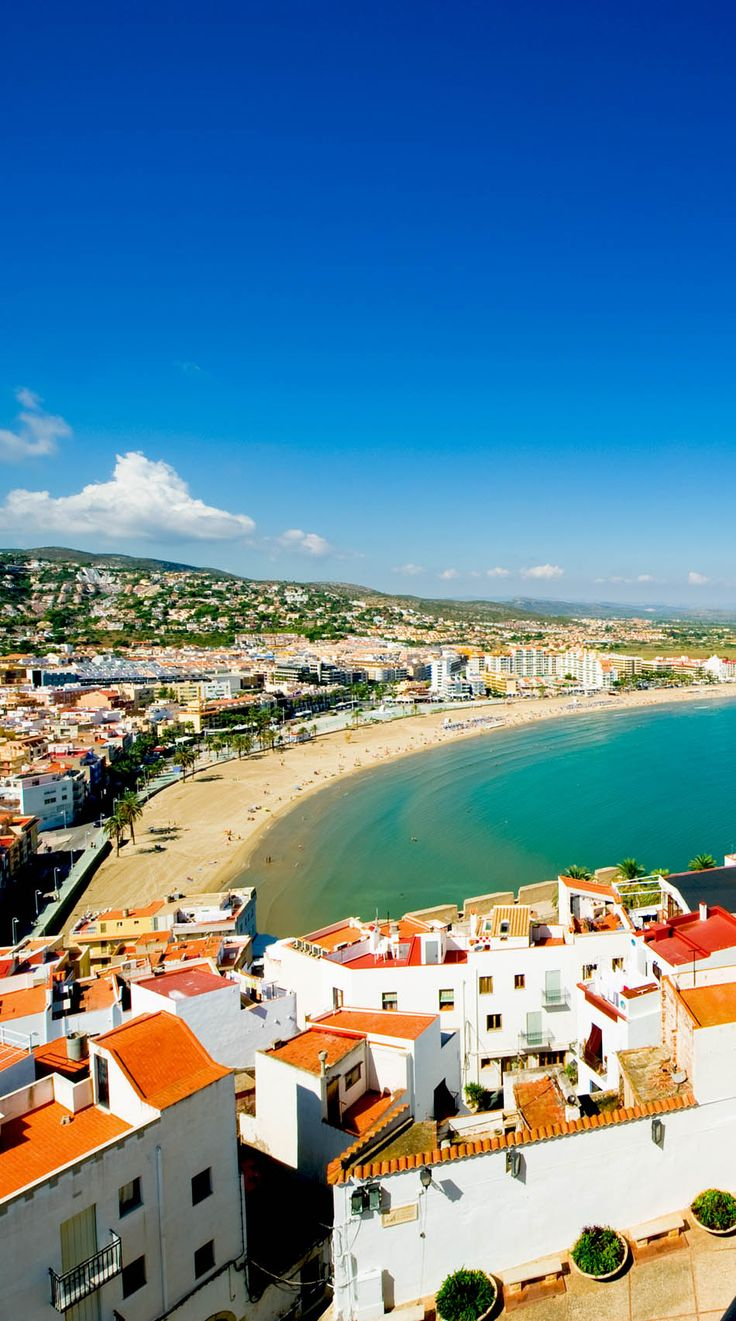 """View of the Amazing Peniscola, often called the """"Gibraltar of Valencia"""", Spain   24 Reasons Why Spain Must Be on Your Bucket List. Amazing no. #10"""