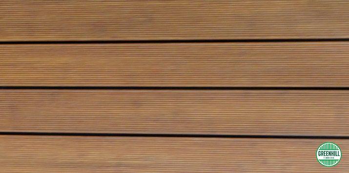 Bamboo Decking Sample. Natural Bamboo colour.  (03) 9465 9875 www.greenhilltimbers.com.au info@greenhilltimbers.com.au.