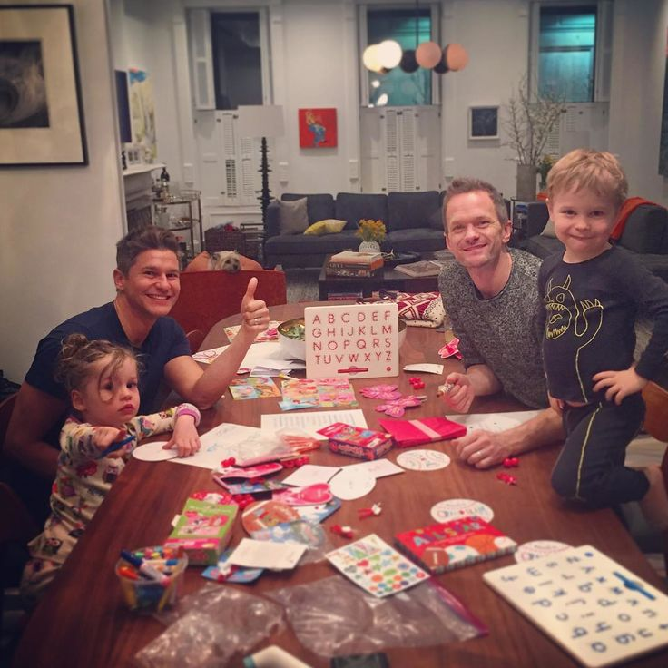 The Cutest Celebrity Kids on Instagram - Neil Patrick Harris, David Burtka, and Their Twins  - from InStyle.com