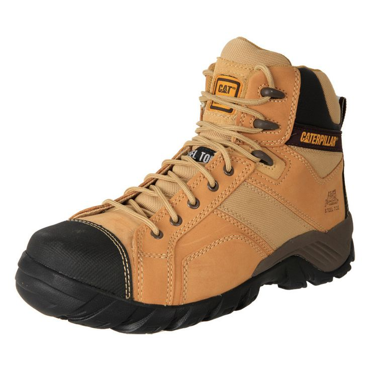 Buy Men's Caterpillar Argon Steel Toe zip up safety sneaker boots online in Australia at the LOWEST online prices. Anti Slip features and gel cushioning.