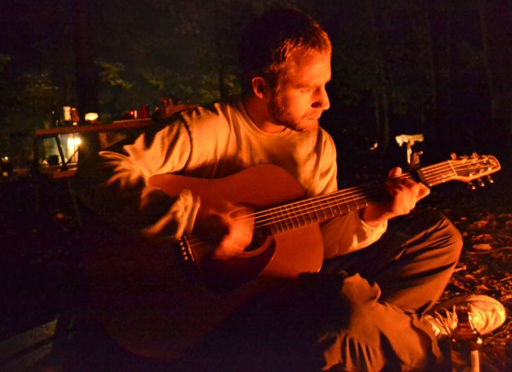 Listening To Guitar Around A Campfire Life Times