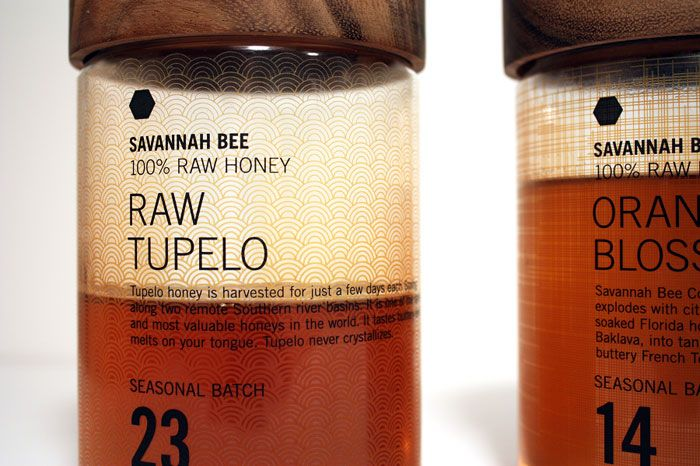 Savannah Bee Concept Packaging by Collin Cummings. I could not possible love this more.
